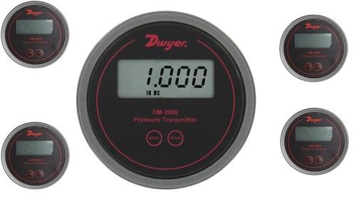 Dwyer DM-2012-LCD PRESSURE TRANSMITTER