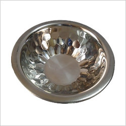 Stainless Steel Diamond Bowl