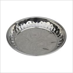 SS Diamond Payal Plate
