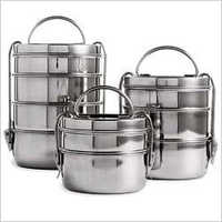 Multilayer Stainless Steel Clip Tiffin Box