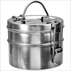 Stainless Steel Clip Tiffin Box