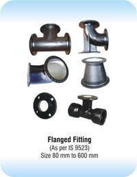 Ductile Iron Flanged Fittings