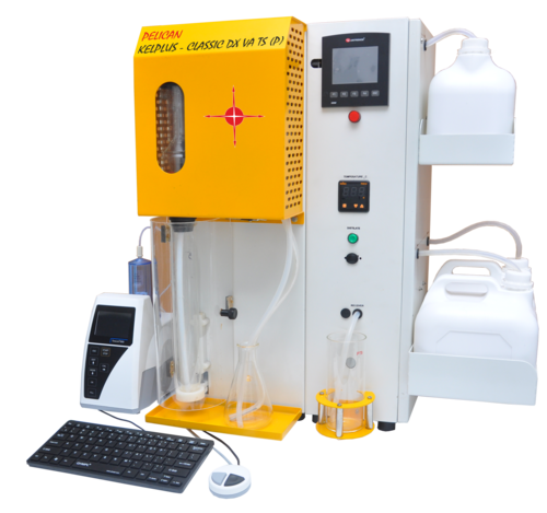 Kjeldahl Distillation System with Touch Screen