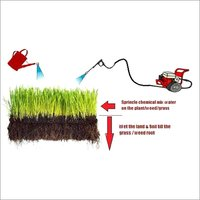 GRASX -Soil Treatment Chemical for Industrial Safety