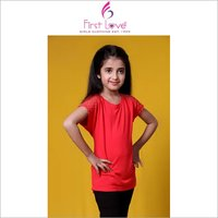 Girl Net Shoulder Top