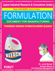 Industrial Use Product Formulations