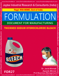 Thickned Sodium Hydro Chloride Bleach