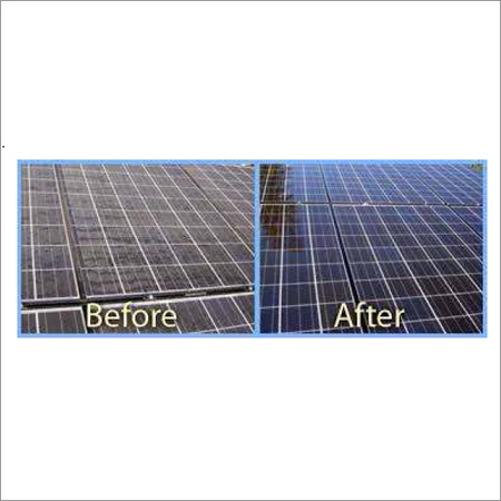 Cement Dust Remover from Solar Panel
