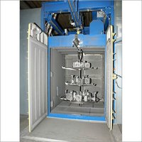 Door Hanger Type Shot Blasting Machine