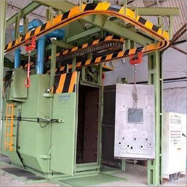 Mono Rail Type Shot Blasting Machine
