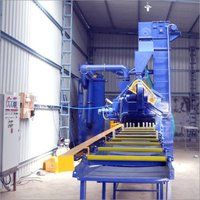 Aluminum Section Shot Blasting Machine