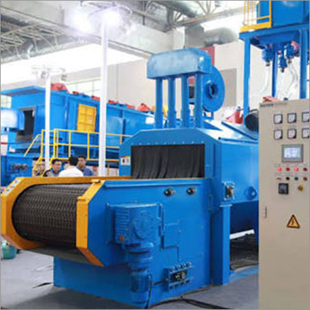Stone Shot Blasting Machine