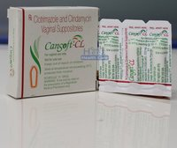Cansoft CL Clindamycin Clotrimazole Suppository