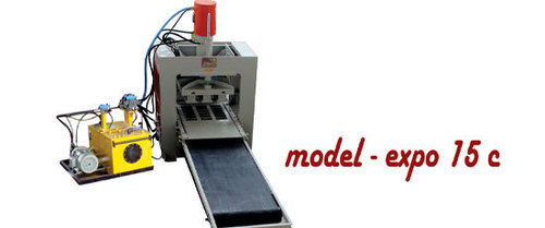 Automatic Fly Ash Brick Making Machine - 15 Bricks