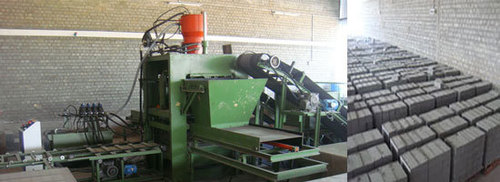 Automatic Fly Ash Brick Machine - 18 Bricks