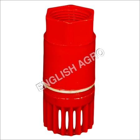 PVC Foot Valve With Spring