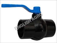 Solid Ball Valve With Ms Plate Handle