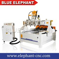 Smart Cnc Router With Multihead 4 Axis Cnc Machine For Table Legs