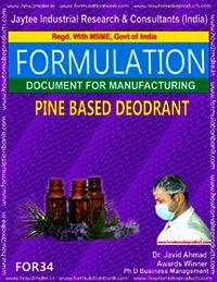 Pine Based Deodrant
