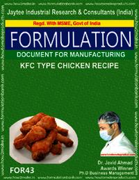 KFC type Chicken Type Receipt