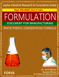 White Phenyl Concentrate Formula