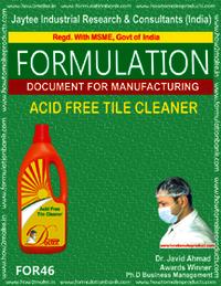 Acid Free Tile Cleaner