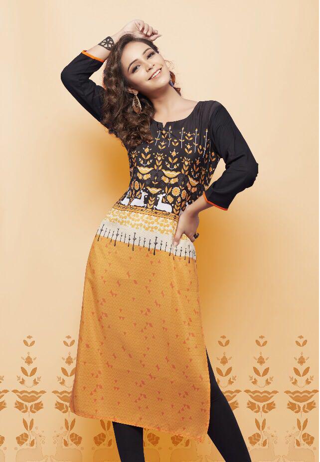 Buy Psyna Princess Rayon Kurti from Sethnic Wholes