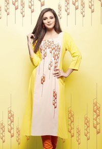 Buy Psyna Princess Rayon Kurti from Sethnic Wholes