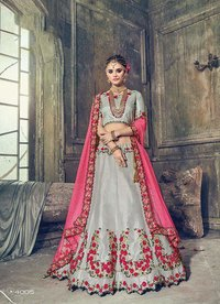 MN bridal lehenga 4001-12 catalog supplier