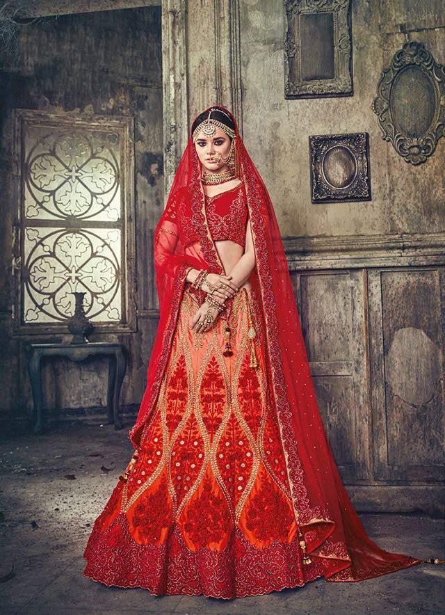 MN bridal lehenga 4001-12 catalog supplier