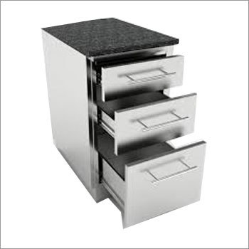 SS Drawer Cabinet