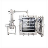 SS Vacuum Tray Dryer