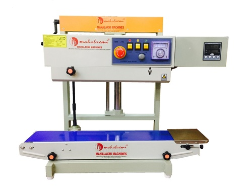 Continuoius Pouch Sealing Machine With Nitrogen Flushing System