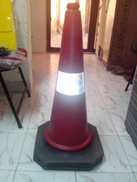 Traffic Safety Cones with Plastic Chains