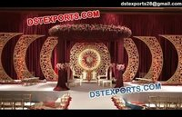 Wedding Decor With Designer Round Frames