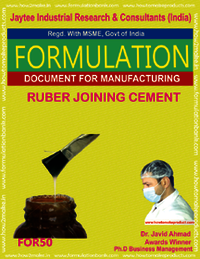 Rubber Joining Cement