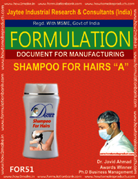 Shampoo For Hairs A