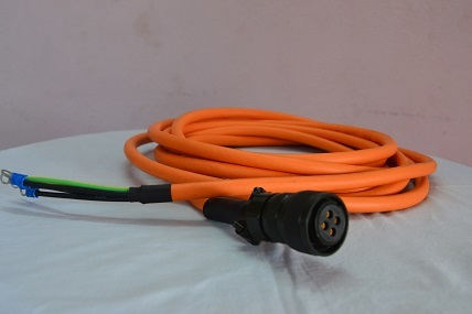 YASKAWA SERVO SHEILDED POWER CABLE 2.2 - 4.4 KW
