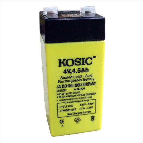 4 Volt 4.5 Ah Battery