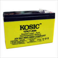 12 Volt 7.5 Ah Battery