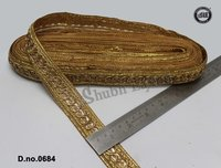 Designer Gold Lace