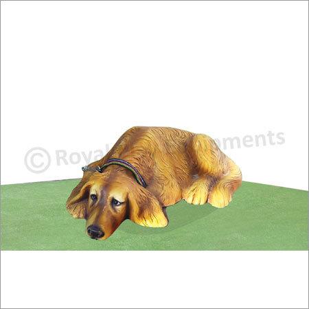 Sleeping Dog Sculpture