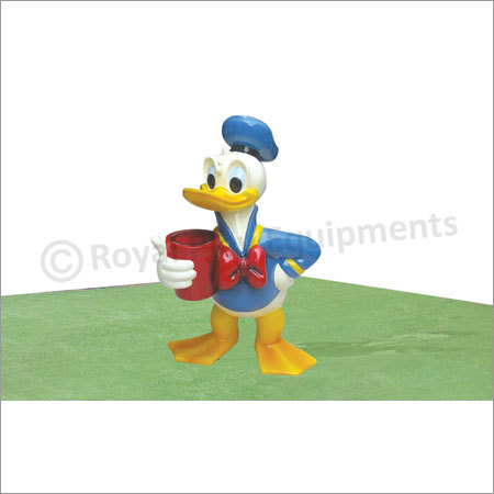 Donald Duck Sculpture