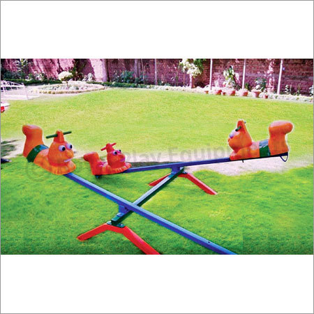 Four Seater See Saw Caterpillar
