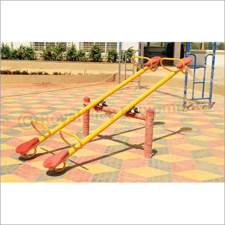 Deluxe Four Seater See Saw