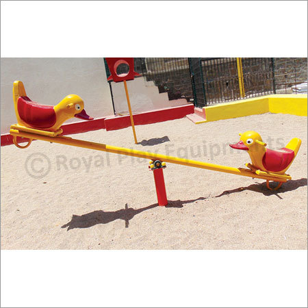 Two Seater See Saw - Duck