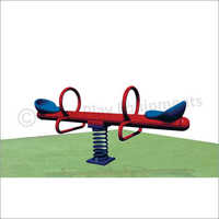 Two Seater Spring See Saw