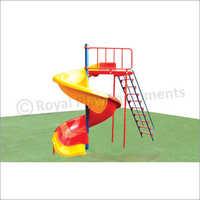 Deluxe FRP Spiral Slide