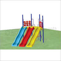 FRP Triple Wave Slide (Deluxe)