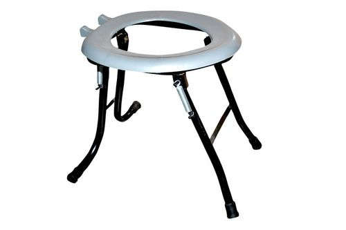 Wall Mounted Folding Commode Stool